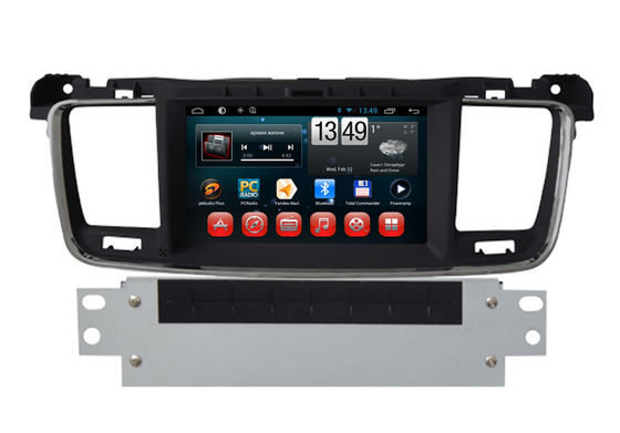 China Androïde 508 Peugeot Radio Rearview de Cameradvd GPS IPOD TV BT van het Navigatiesysteem leverancier