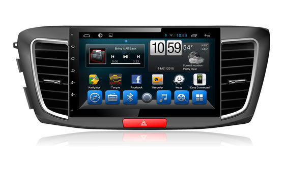 "Autogps de Navigatiesysteem 10,1 van Honda Accord Android"" met Radiords Aux 4G SIM Carplay"