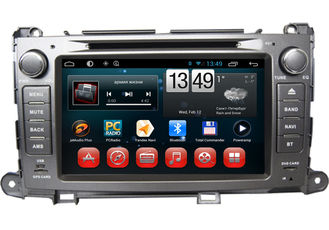 China Van de de Navigatieoker DVD Wifi 3G Bluetooth SWC van Toyota GPS de Camerainput van TV leverancier