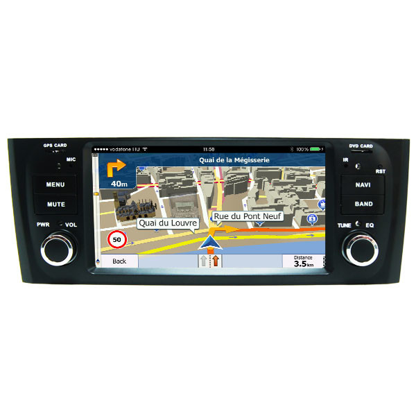 In-Dash Car Audio Receivers FIAT DVD Player Tv Wifi Dvd Punto Linea 2007-2015