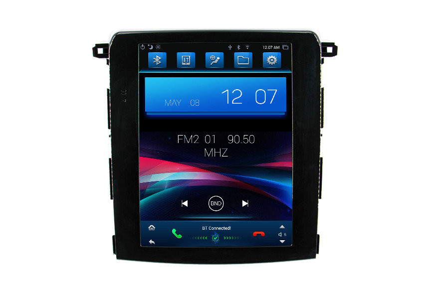 DVR / Front Camera Stereo Navigation 2 Din Android Head Unit For Subaru XV 2018 Tesla Screen Car