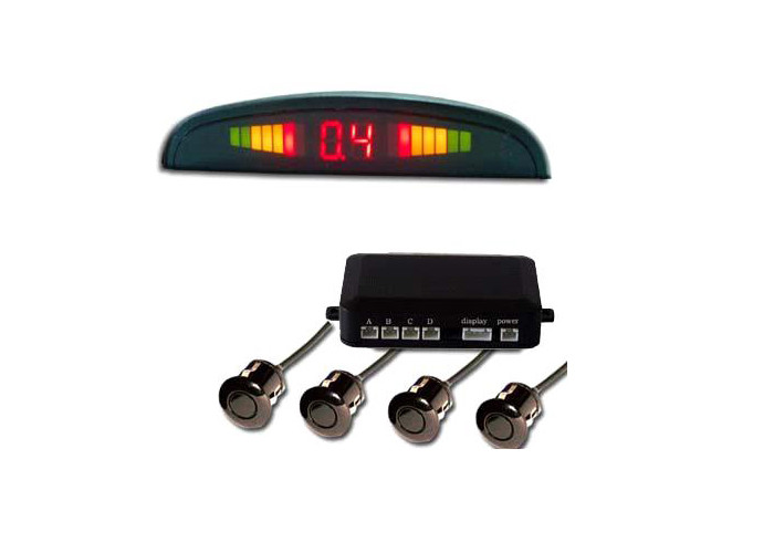 Classic Car Rainbow LED Parking Sensor Car Electronic Accessories